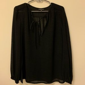 Babaton Black Tie Top